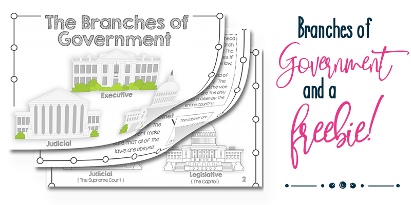 branches of government and a freebie