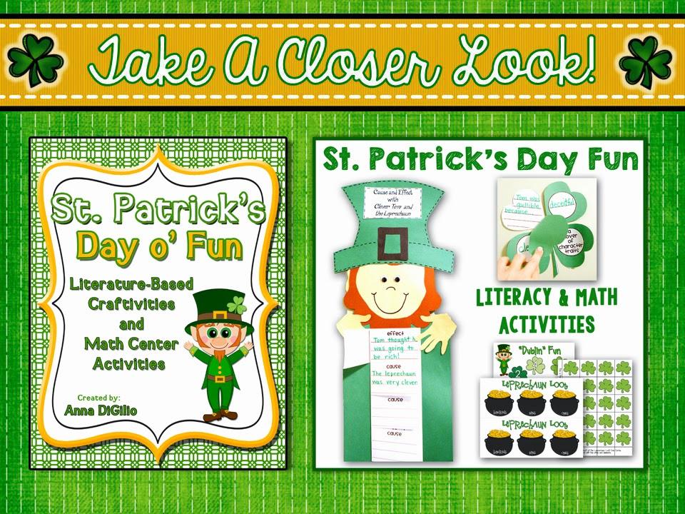 St patrick's day classroom activities