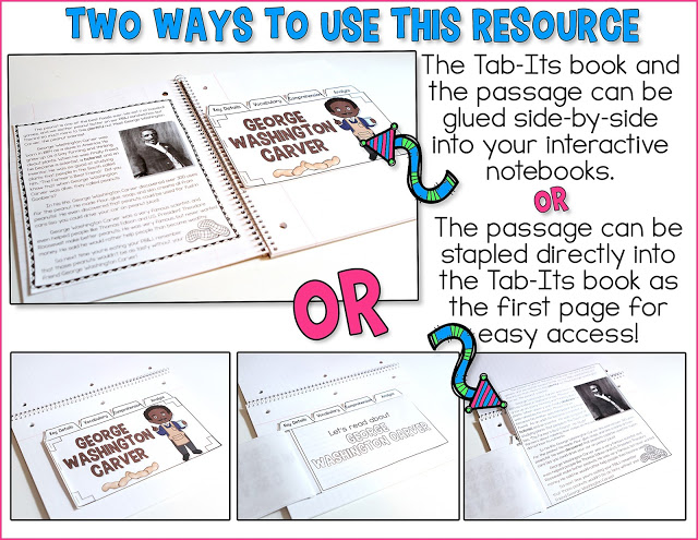 2 ways to use the Constitution Day Tab-Its resources