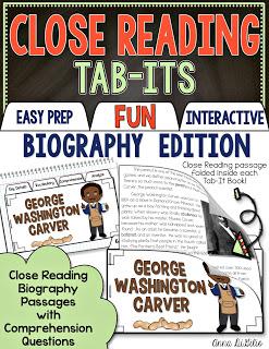 biography close reading