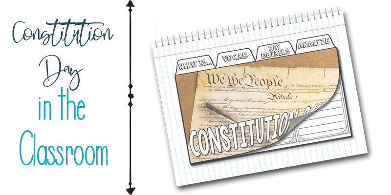 Constitution day in the classroom