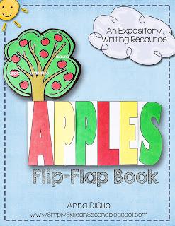 Apples Flip Flap Book resource