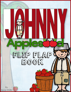 Johnny Appleseed Flip Flap Bok resource