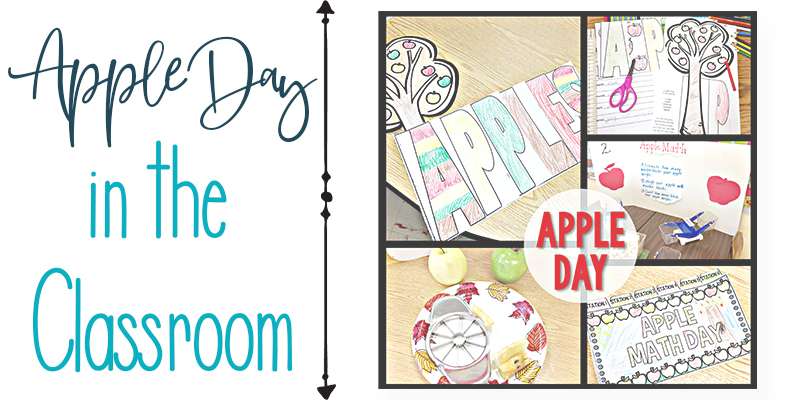 apple day in the classroom