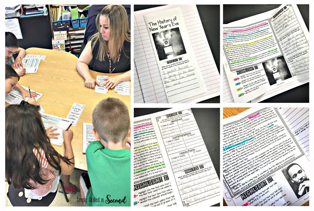 Close Reading in action