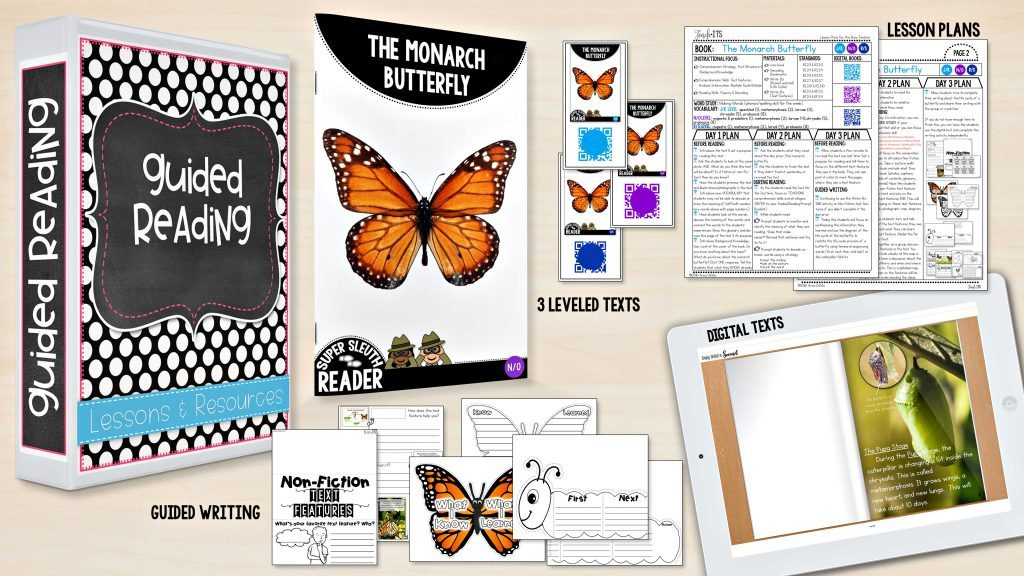 Guided Reading lesson and resources unit