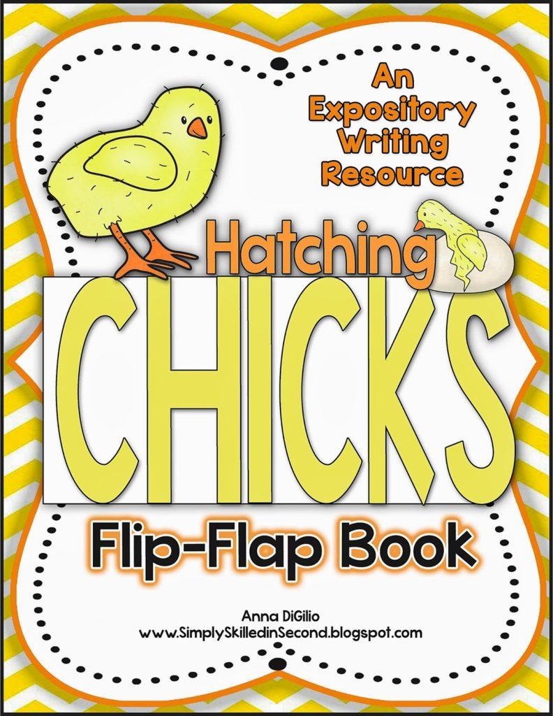 Hatching Chicks Flip Flap Book resource