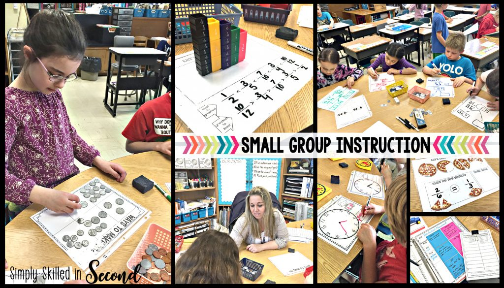 guided math 2nd grade, guided math 3rd grade, small guided math groups, small group math instruction