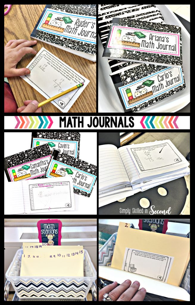 math journals, guided math journals, math journaling