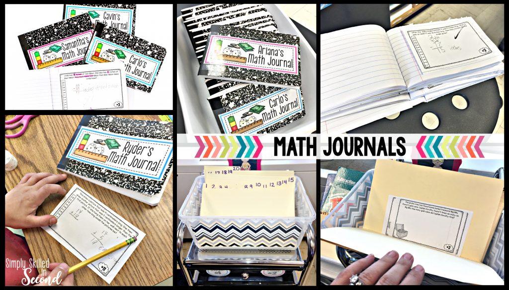 math journals, math journaling, guided math journals,