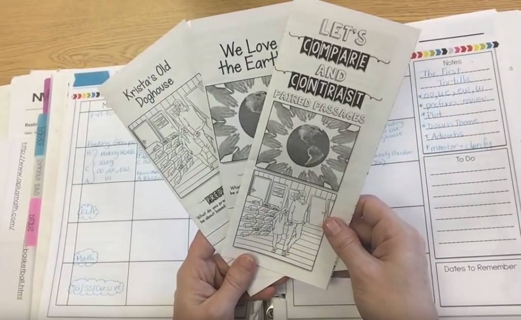 Tri Folds for Guided Reading