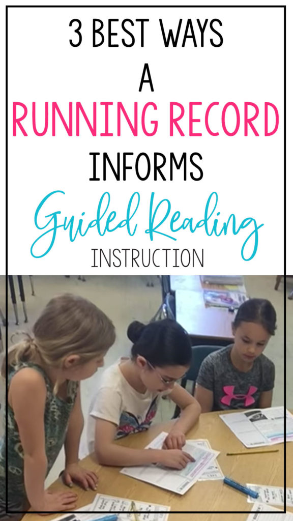 3 best ways running records inform guided reading instruction