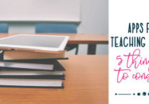 Apps to use to teach Reading